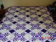 Custom quilt in New Mexico pattern